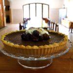Baked Chocolate Mousse Tarte