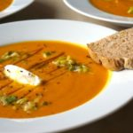 Simple Roasted Pumpkin & Carrot Soup