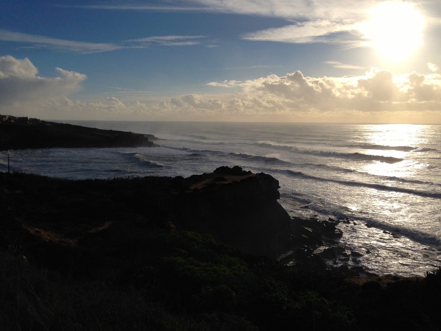 The bay of São Lourenço_the home of Mellowmove Surf & The Mellow Kitchn, Portugal