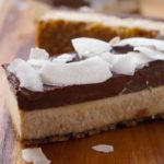 Decadent Chocolate-Coconut-Cheesecake Bars