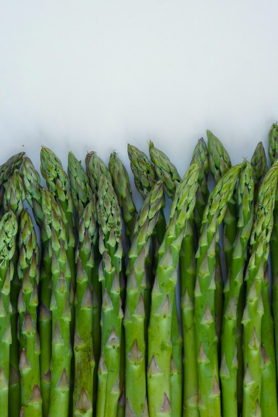 Vibrant, green asparagus