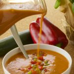 Chilled Gazpacho – for hot summer days