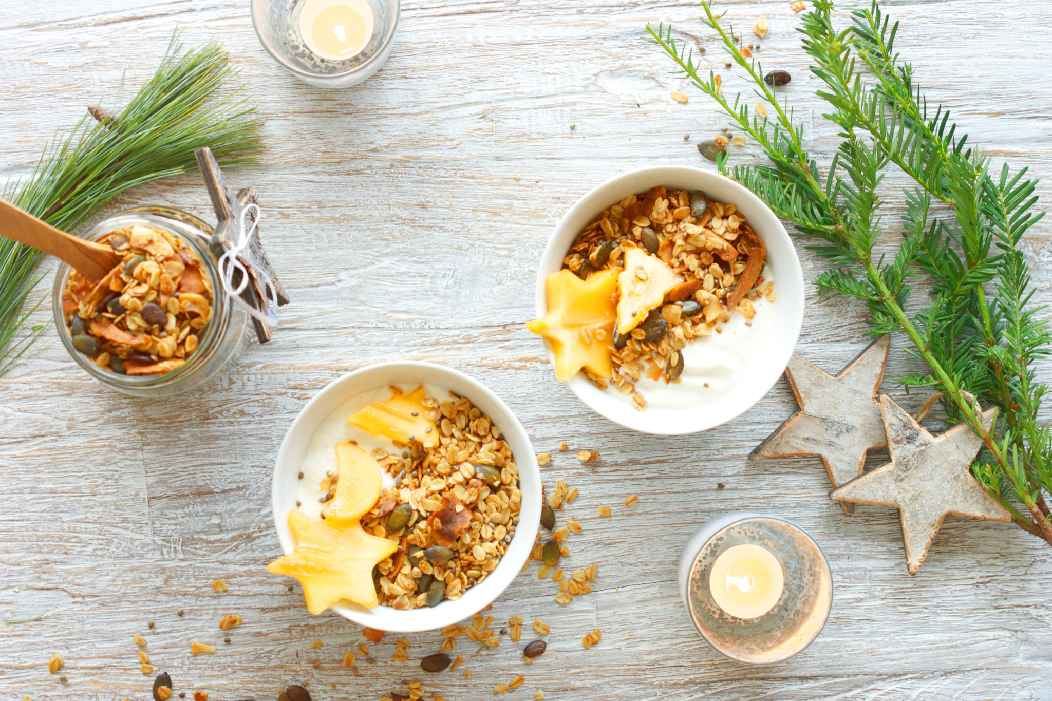 Simple Coconut & Pumpkin Granola #vegan #gf #refinedsugarfree