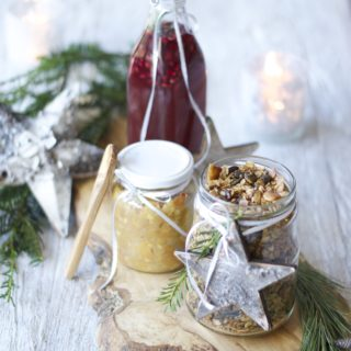 3 No-fuss homemade Christmas Presents #vegan #gf