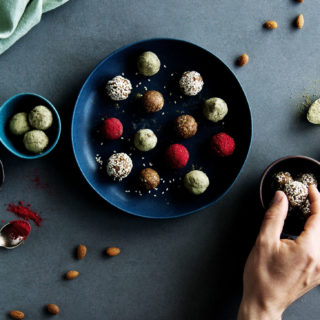 Snacking on these superfood energy bliss balls