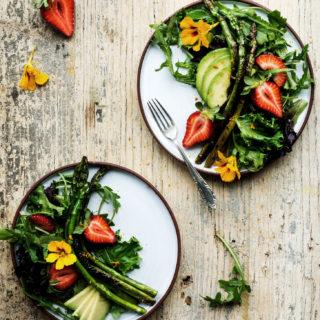 Strawberry & Asparagus Spring Salad