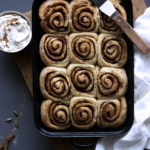 Heavenly Chai Infused Cinnamon Buns