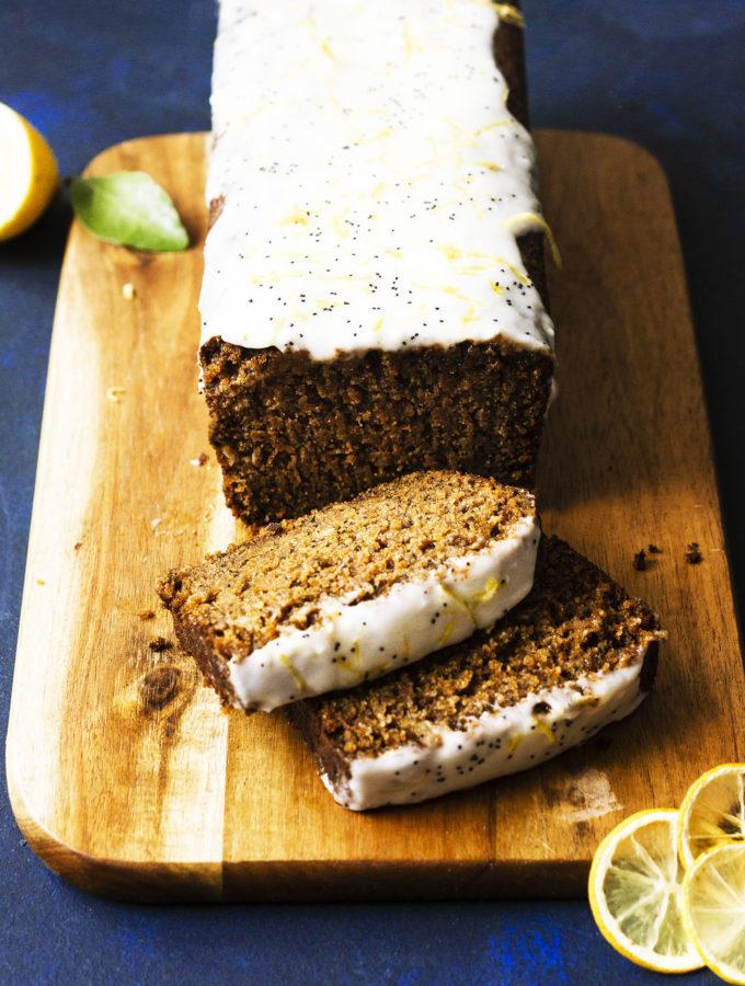 Citrus Poppyseed Loaf Cake