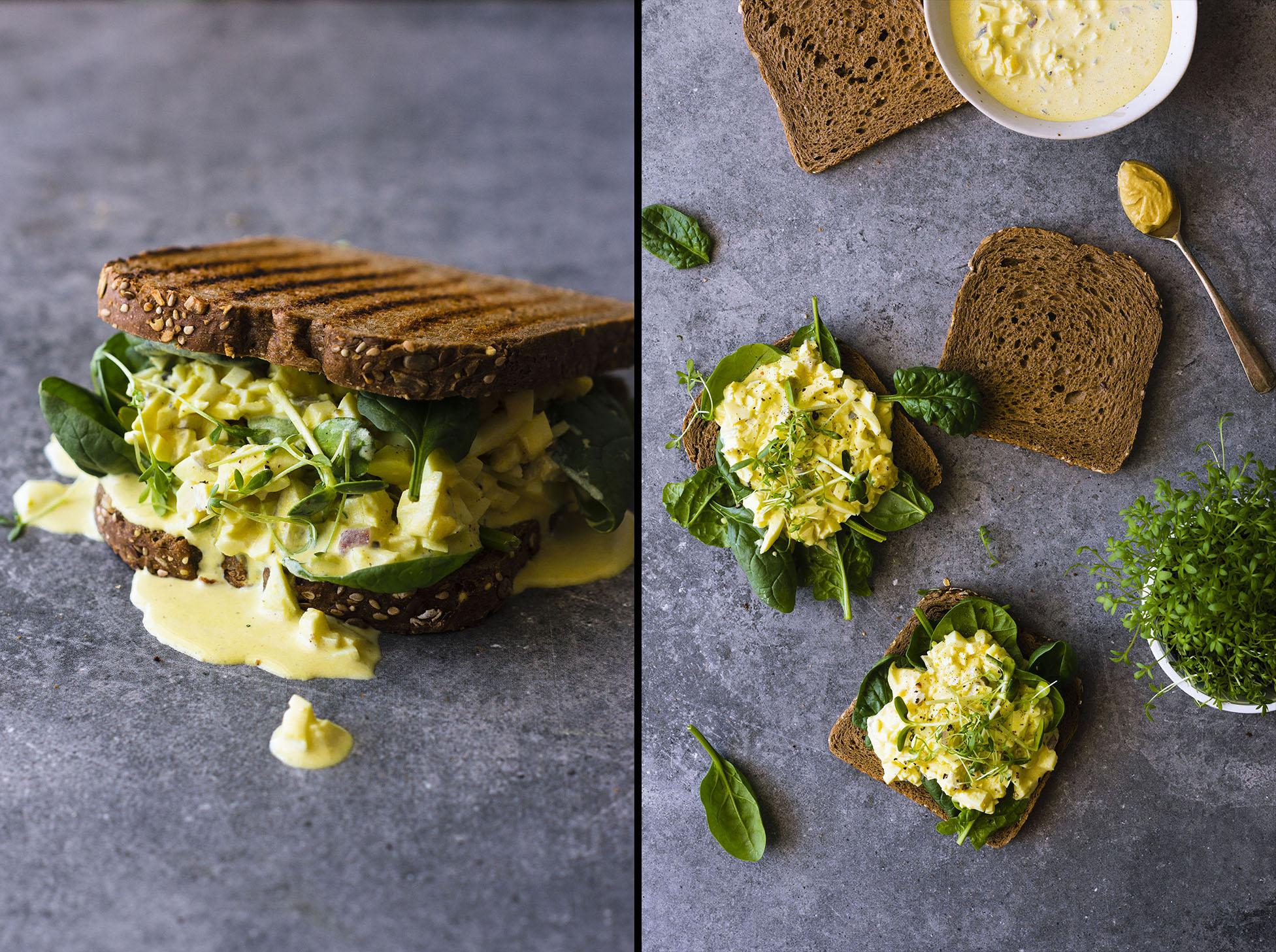 Easy, healthy Turmeric Egg Salad