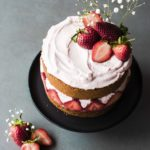 Strawberry Mascarpone Coconut Cake & Spring Vibes