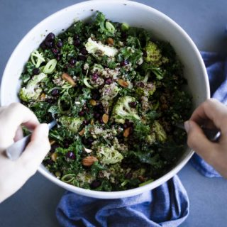 Broccoli & Kale Quinoa Salad