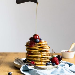 Everyday Einkorn Pancakes